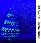 abstract vector illustration of ... | Shutterstock .eps vector #160999181