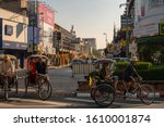 Street View In Tha Phae Road...