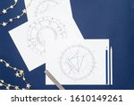 Astrological Natal Chart On Tye ...