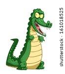 cartoon crocodile. | Shutterstock .eps vector #161018525