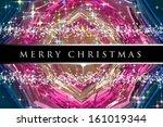 wonderful christmas background... | Shutterstock . vector #161019344