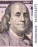 portrait of benjamin franklin... | Shutterstock . vector #1610216371