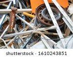 recycling industry   dump of... | Shutterstock . vector #1610243851