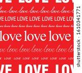 seamless romantic pattern for...   Shutterstock .eps vector #1610341771