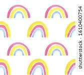 seamless pattern made of... | Shutterstock . vector #1610400754