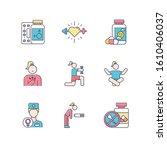 predmenstrual syndrome color... | Shutterstock .eps vector #1610406037