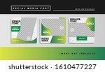 social media food template post   Shutterstock .eps vector #1610477227