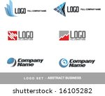 logo vector set business...   Shutterstock .eps vector #16105282