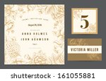 set backgrounds to celebrate... | Shutterstock .eps vector #161055881