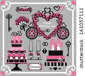 Set Of Wedding  Design Element...