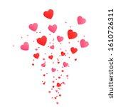valentines day  love banner ...   Shutterstock .eps vector #1610726311