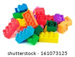 Toy Colorful Plastic Blocks...
