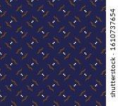 seamless vector pattern in... | Shutterstock .eps vector #1610737654