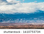 The Rugged Desert Landscape Of...