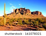 Superstition Mountains And The...