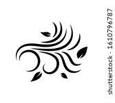 illustration of wind icon...   Shutterstock . vector #1610796787