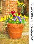 Arrangement Of Mixed Flowers I...