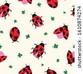 allover seamless repeat pattern ... | Shutterstock .eps vector #1610874274