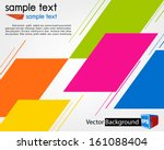 abstract background for design | Shutterstock .eps vector #161088404