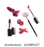 collection of various lipstick... | Shutterstock . vector #161089127