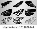A Set Of Wings Of Various...
