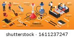 Isometric Hookah Tobacco Store...