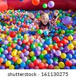 little children on the... | Shutterstock . vector #161130275