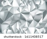3d polygonal abstract... | Shutterstock . vector #1611408517