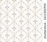 french shabby chic damask...   Shutterstock .eps vector #1611502954