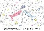 Cute Fish Seamless Pattern....