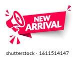 vector illustration new arrival ... | Shutterstock .eps vector #1611514147