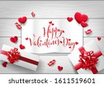 happy valentine's day   special ... | Shutterstock .eps vector #1611519601