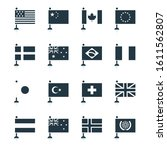 Minimal World Flag Icons ...