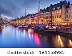 Nyhavn Canal In Copenhagen ...