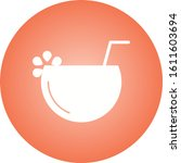 unique coconut drink vector...   Shutterstock .eps vector #1611603694