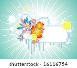 vector fantasy lemon and... | Shutterstock .eps vector #16116754