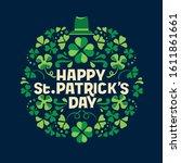 Hand Lettering Saint Patrick's...
