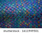 Rainbow Colored Fish Scale...