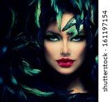 Mysterious Woman Portrait....