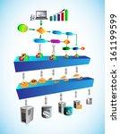 vector illustration of service... | Shutterstock .eps vector #161199599