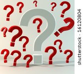 questions concept image | Shutterstock . vector #16120804