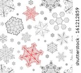 christmas seamless pattern from ... | Shutterstock . vector #161212859