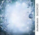 Christmas Decoration On Blur...