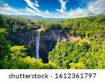 Chamarel Waterfall  Island...