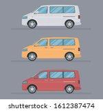 vector van car illustration....   Shutterstock .eps vector #1612387474