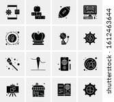 16 business universal icons... | Shutterstock .eps vector #1612463644