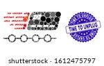 mosaic rush grace credit...   Shutterstock .eps vector #1612475797
