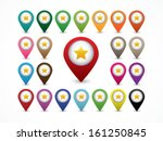 map marker   favorite location | Shutterstock .eps vector #161250845