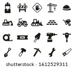 builders site or construction... | Shutterstock .eps vector #1612529311