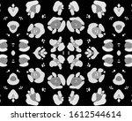 seamless leopard texture.... | Shutterstock . vector #1612544614